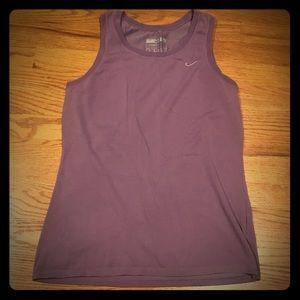 Nike Fit Dry women's sz Large lavender tank EUC
